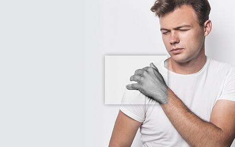 есть над болит левая рука и спина слева нужные